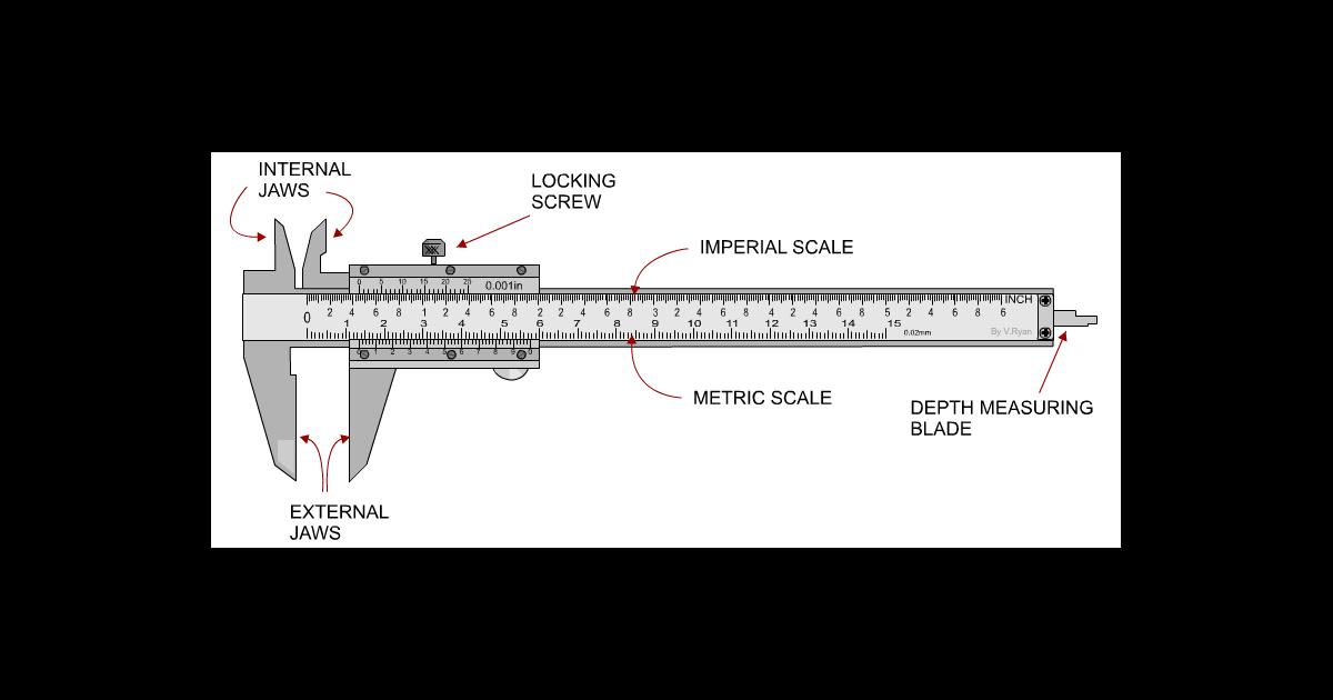 vernier calipers made easy Vernier Caliper Tutorial
